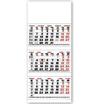 Tri Monthly Shipping Calendar