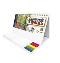 Countryside Walks Note Station Desk Calendar