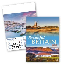 Beautiful Britain Wall Calendar