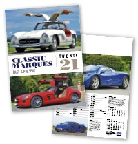 Classic Marques Past and Present Calendar