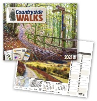 Countryside Walks Wall Calendar