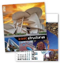 Iconic Structures Wall Calendar