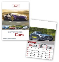 Performance Cars Wall Calendar