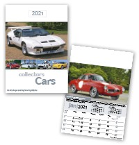 Collectors Cars Calendar